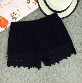 Korean-style female insurance shorts safety shorts (Black)