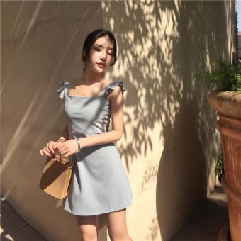 Korean-style spring female New style skirt vest dress