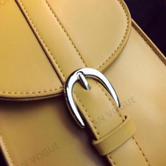 Korean Vogue SB-001 Ladies Quality Leather Unique Style Women MiniShoulder Chain Bag Phone Bag(White) - 5