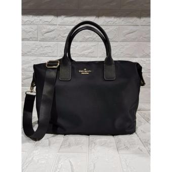 KS Lyla Nylon Tote Bag - Black