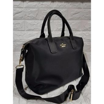 KS Lyla Nylon Tote Bag - Black - 2
