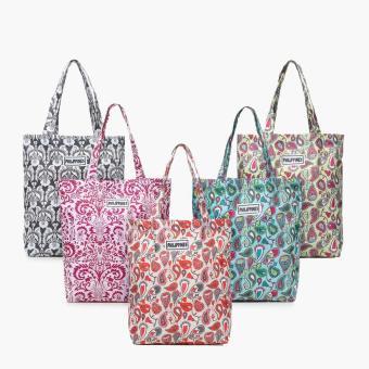 Kultura Ladies Paisley Tote Bags (Set Of 5)