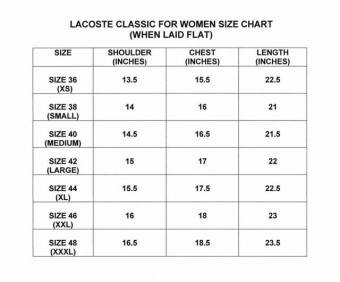 LACOSTE CLASSIC FOR WOMEN (NAVY BLUE) - 3