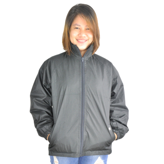 Ladies Water Proof Breathable Rain Jacket (Black)