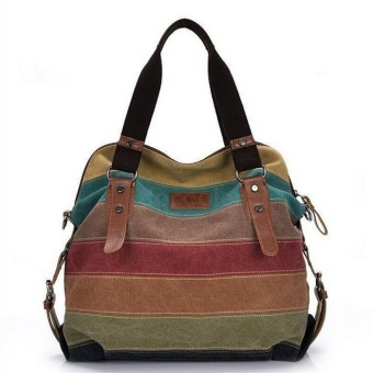 Lady Canvas Handbag Retro Crossbody Hobo Shoulder Bag Tote