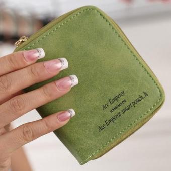 Lady Women Zipper Mini Purse Leather Wallet Credit Card Holder Bags Gift - intl - 2