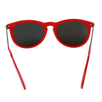 LALANG Hot Velvet Frame Sun Glasses (Red) - picture 2