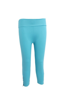 LALANG Slim Yoga Pants Blue - picture 2