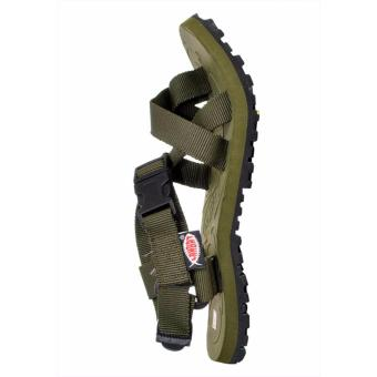 Lambat Outdoor Sandals for Women (Army Green) - 2