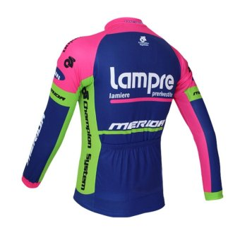 Lampre Quick Dry Cycling Jersey Set 9D Gel Pad Breathable BycicleClothing Bike Clothes X27-02 - intl - 3