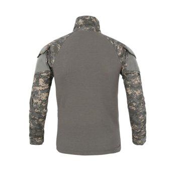 Lanbaosi Tactical Military Uniform Multicolor Comfort FROG Airsoft Combat Shirt - intl - 2