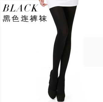 LANSWE 120d does not in the thick anti-hook wire stockings (Pantyhose black)