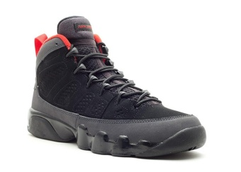 Leather Basketball Shoes Air Jordan 9 Retro gs Black varsity reddrk charcoal 011277 2 Performance Sports Shoes - intl Price Philippines