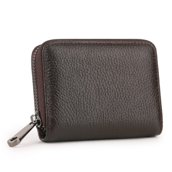 Leather women's credit card sets organ card holder (PARK'S [first layer of leather])