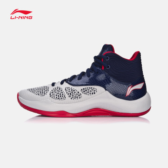 fcb20803b Buy Li Ning ABPM 005 autumn New style sonic breathable sports shoes  basketball shoes (Ceramic gray/sapphire blue color/purple red) in  Philippines