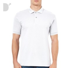 38b5708e1385b Lifeline Plain Classic Polo Shirt in White Philippines
