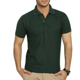 Lifeline Polo Shirt (Moss Green)