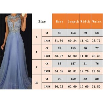 Long Formal Prom Dress Cocktail Party Ball Gown Evening Bridesmaid Dresses - intl - 3