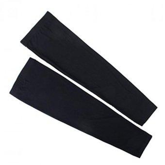 Long Sleeve Stretch Leg Warmer Sports Knee Guard Windproof Covers L - 3