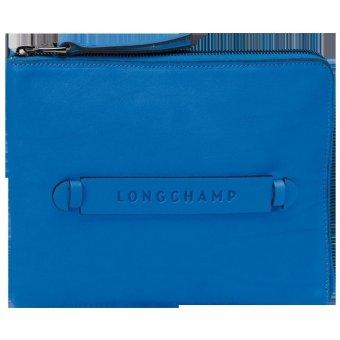 Longchamp 3D - Business iPad mini case (BLUE)
