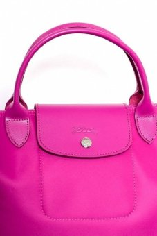Longchamp Le Pliage Neo Large with Sling Tote Bag (Magenta) - 2
