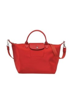 Longchamp Le Pliage Neo Medium Short Handle Bag (Red)
