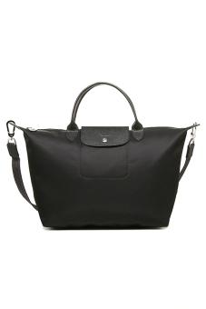 Longchamp Le Pliage Neo Medium Short Handle (Noir) - 2