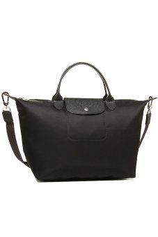 Longchamp Le Pliage Neo Medium Short Handle (Noir)