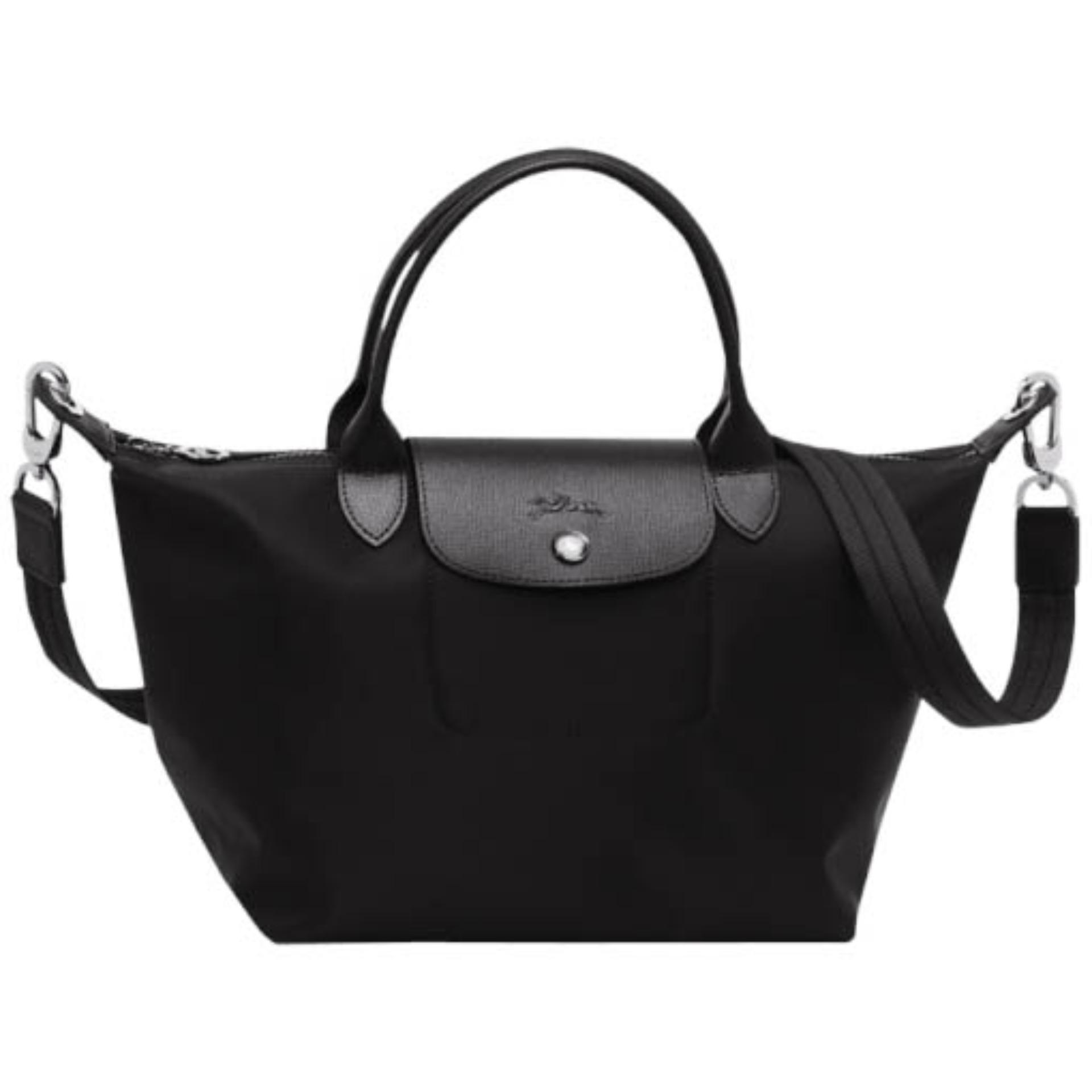 Longchamp Le Pliage Neo Small Handbag (Black) | Lazada PH