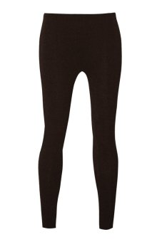 Lookssy Unisex Style Leggings (Plain Brown)