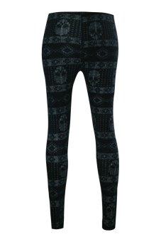 Lookssy Unisex Style Leggings (Skull Print) - 2
