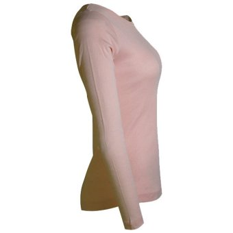 Lookssy Unisex Style Plain Long sleeve (Peach) - 2
