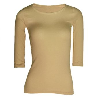 Lookssy Unisex Style Quarter Sleeve (Golden Brown)