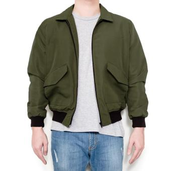 LOYAL Olive Aviator Jacket