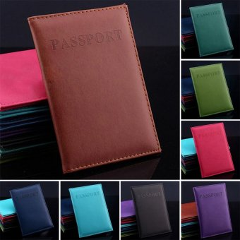Makiyo PU leather, passport holder, wallet, card holder(Black) - intl - 2