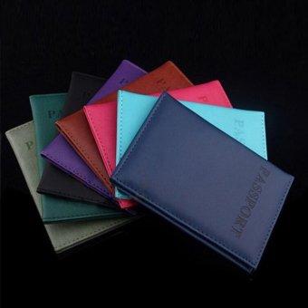 Makiyo PU leather, passport holder, wallet, card holder(Black) - intl - 3