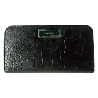 Mashana Mango Faux Crocodile Leather Wallet MS-LCY