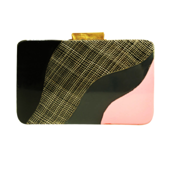 Melrose Jewelry Story Clutch Bag