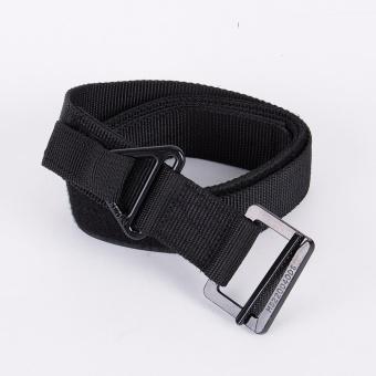 Men Adjustable Rescue Survival Tactical Belt Black - intl - 2