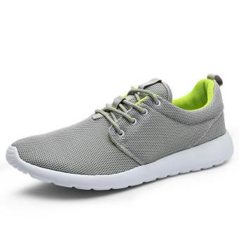 Men Casual Fashion Skater Shoes - Grey