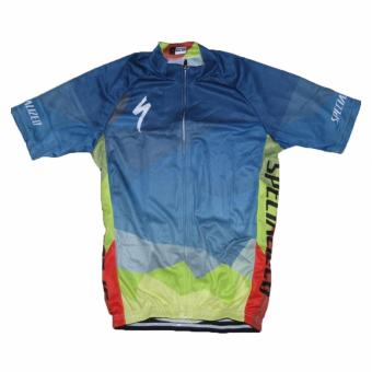 Men Cycling Jersey and Non Bib Shorts Set Quick Dry Gel Padded Clothing-FNM (Spec15) - 3