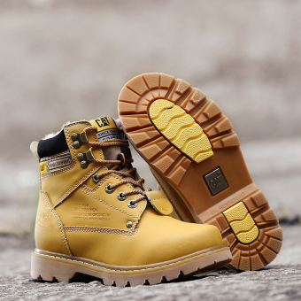 Men fashion boots winter snow boots - 4