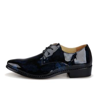 Men Fashion Lace-Ups Shoes (Blue)