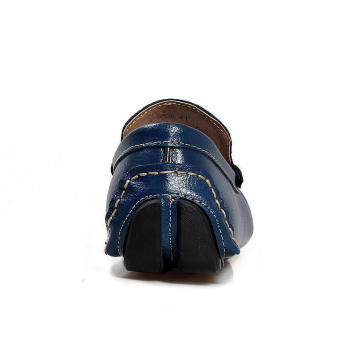 Men Fashion Loafers -Blue - picture 4
