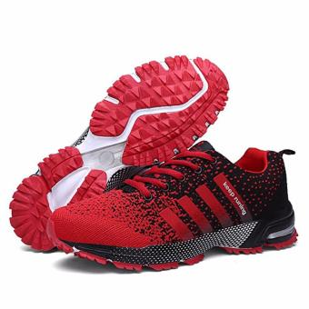 Men Fashion Sneakers Casual Running Sports Shoes(red) - intl - 3