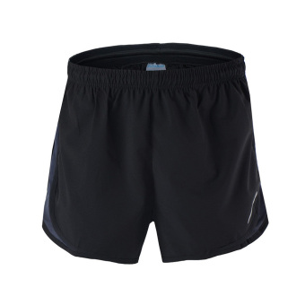 Men Fitness Sports Running Shorts Training Jogging Shorts Quick Dry Wicking - Black Grey Price Philippines