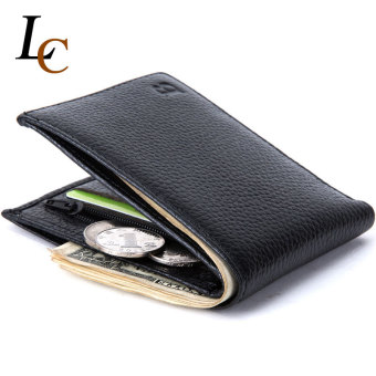 Men Genuine Leather Wallets Male Brand Money Purses Soft Card CaseNew Classic Designer Wallet for Men