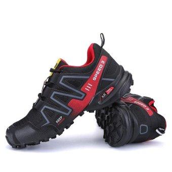 Men Hiking Shoes Hot Sale Waterproof Hiking Shoes Genuine Leather Outdoor Trekking Shoes - intl - 5