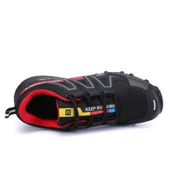 Men Hiking Shoes Hot Sale Waterproof Hiking Shoes Genuine Leather Outdoor Trekking Shoes - intl - 3