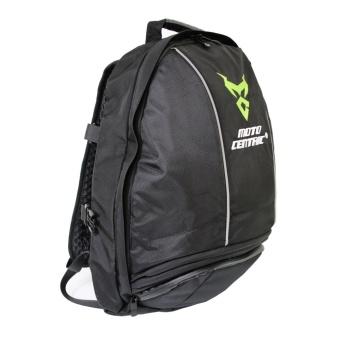 Men Motorcycle Waterproof backpack shoulder Bag riding Bike cyclingHelmet Bag - intl - 4